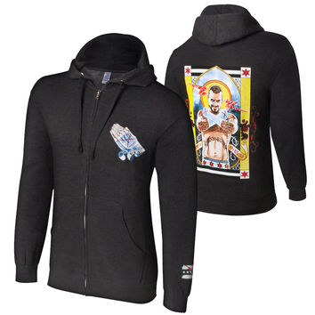 "CM Punk ""Second City Saint"" Full Zip Sweatshirt"