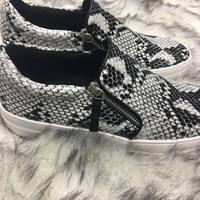 Snakeskin Sneakers - Thirty One Boutique