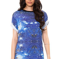 DNA Tank Sublimated Tee in Blue