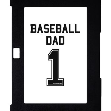 Baseball Dad Jersey Galaxy Note 10.1 Case  by TooLoud