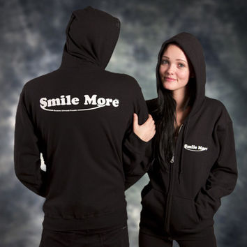 Smile More Hoodies - Unisex