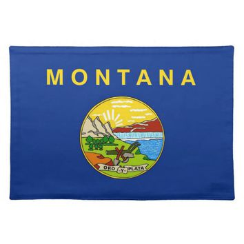 Montana Flag American MoJo Placemat