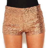Mini Sequin Shorts