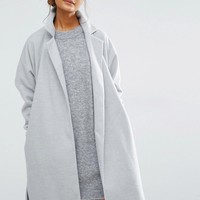 First & I Wool Belted Coat at asos.com