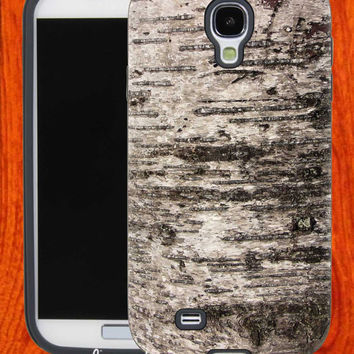 Birch Grey Bark tree texture,Accessories,Case,Cell Phone,iPhone 4/4S,iPhone 5/5S/5C,Samsung Galaxy S3,Samsung Galaxy S4,Rubber,29-11-25-Bn