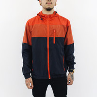 Davis 3 Colored Windbreaker (Red, Navy)