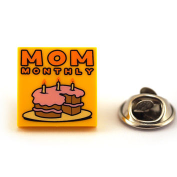 Mom Monthly Tie Pin, Tie Tack Pin, Men's Tie Tacks, Tie Tac, Silver Tie Clip, Tie Clips Men, Wedding Clip, Tie Tack