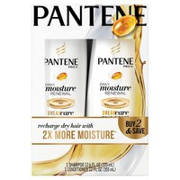 Pantene Dual Pack Daily Moisture Renewal Shampoo + Conditioner - 24.6 oz
