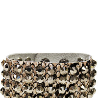 Everyday Chic Leather Bracelet in Sand – bandbcouture.com