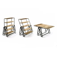 Industrial Dining Table by Go Home Ltd. 12312