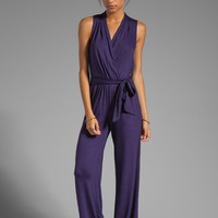 Trina Turk Must Have Jersey Marianela Jumpsuit in Black Plum from REVOLVEclothing.com