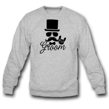 Groom Wedding Marriage Stag do night bachelor sweatshirt