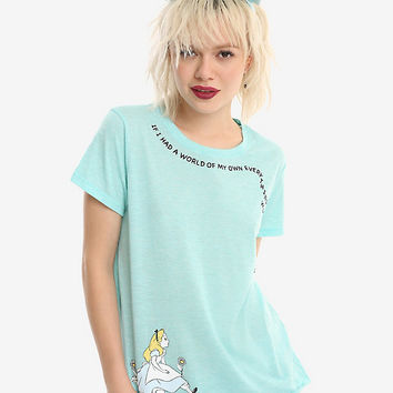 Disney Alice In Wonderland Nonsense Girls T-Shirt
