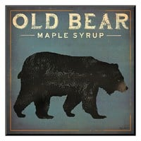 Art.com ''Old Bear'' Wall Art (Black)