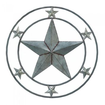 Galvanized Star Wall Decor