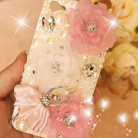 Glam Ballerina iPhone 4/4s case iphone 5 cases iphone hard case iphone cover case handmade