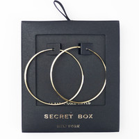 Secret Box 14k Gold Dipped