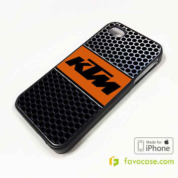 KTM Logo Sportmotorcycle iPhone 4/4S 5/5S 5C 6 6 Plus Case Cover