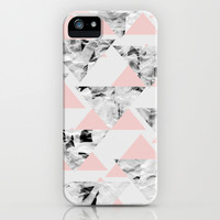 Pink Triangles iPhone & iPod Case by Georgiana Paraschiv