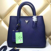 PRADA High Quality Women Shopping Leather Handbag Tote Satchel Shoulder Bag  H-LLBPFSH G-MYJSY-BB