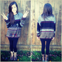 Super Hipster Vintage Sweater
