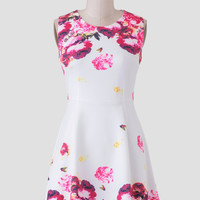 Pixie Garden Floral Dress