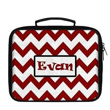 Chevron Large Scale Pattern Personalized Lunch Box