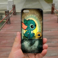 Swimming Stitch and Turtle  case  ipone 5s case iphone 4/4s/5/5c case Samsung galaxy s5 case galaxy s3/s4 case covers skin 178