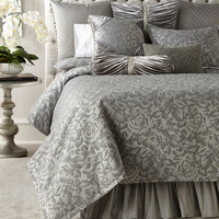 Sweet Dreams Platinum Posey Bedding