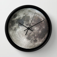 Moon Wall Clock by Matt Bokan