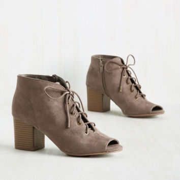 Fearless Footwork Bootie | Mod Retro Vintage Boots | ModCloth.com
