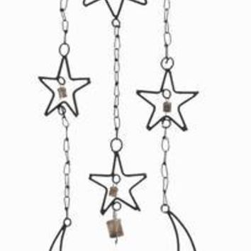 """Benzara 34""""H Beautifully Crafted High Quality Metal Wind Chime Hanger"""