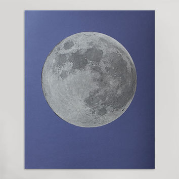 Limited Edition Silver Moon Print (Large)