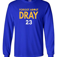 """Long Sleeve Draymond Green Golden State Warriors """"Forgot About Dray"""" T-Shirt ADULT LARGE"""