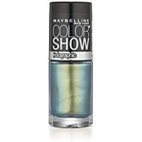 (2 Pack)-Maybelline New York Color Show Nail Lacquer, Holographic -25 Mystic Green
