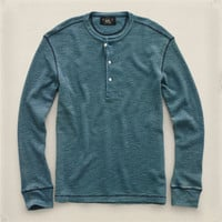COTTON LONG-SLEEVED HENLEY