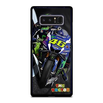 MOTO GP ROSSI THE DOCTOR STYLE Samsung Galaxy Note 8 Case