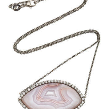 One-Of-A-Kind Laguna Agate Pendant | Moda Operandi