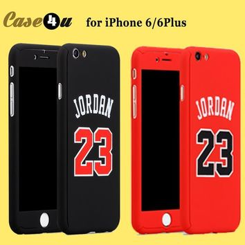New Hybrid Basketball Full Body Case coque For iPhone 6 6s 7 Plus 360 Case Kobe Bryant