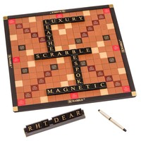 Luxury Bespoke Leather Scrabble Set
