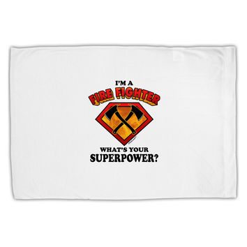 Fire Fighter - Superpower Standard Size Polyester Pillow Case