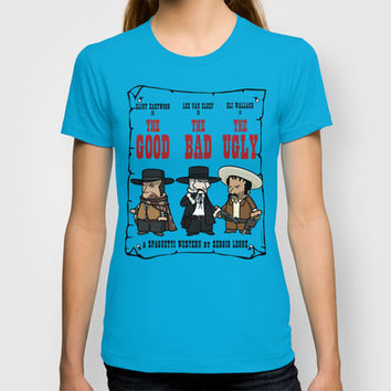 The good, the bad, the ugly T-shirt by elsitiodetico