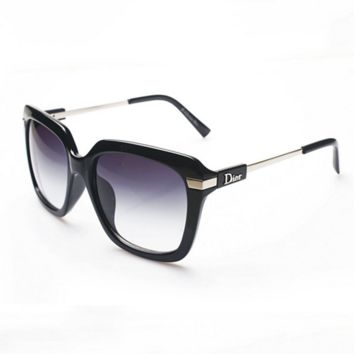 11b365697eb Dior Fashion Sunglasses Women Vintage Fashion Metal Frame Mirro