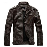 The Burnout II Jacket Brown