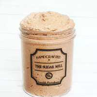 Chocolates Sugar Scrub, Sugar Polish, scrub, sugar scrub, chocolate cake, exfoliate, whipped