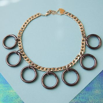 Duotone Seven Deadly Rings Choker