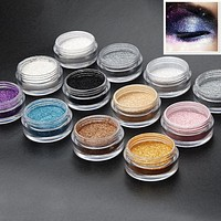 12 Color Glitter Eyeshadow Palette