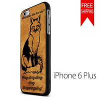 What does the fox say NDR iPhone 6 Plus Case