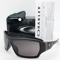 NEW Oakley Offshoot sunglasses Matte Black Warm Grey 9190-01 AUTHENTIC off shoot