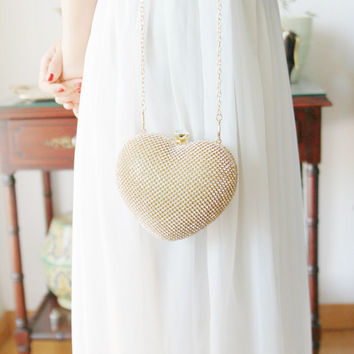 Gold Clutch Bag - Bridal Clutch Bag - Wedding Clutch Purse